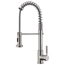 GICASA Commercial Kitchen Faucet Pull Out Sprayer