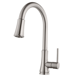Pfister G529PF1S Pfirst Series Pull-Down Kitchen Faucet