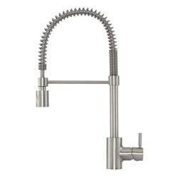 Danze DH451188SS The Foodie Single Handle Pre-Rinse Kitchen Faucet
