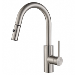 Kraus KPF-2620SS Modern Mateo Single Lever Pull Down Kitchen Faucet