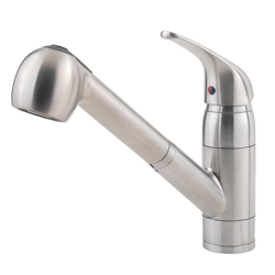 Pfister Pfirst Series 1-Handle Pull-Out Kitchen Faucet