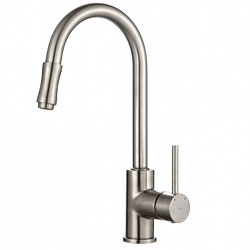 Kraus KPF-1622SN Single Lever Pull Down Kitchen Faucet