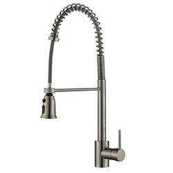 Ruvati RVF1215ST Commercial Pullout Kitchen Faucet
