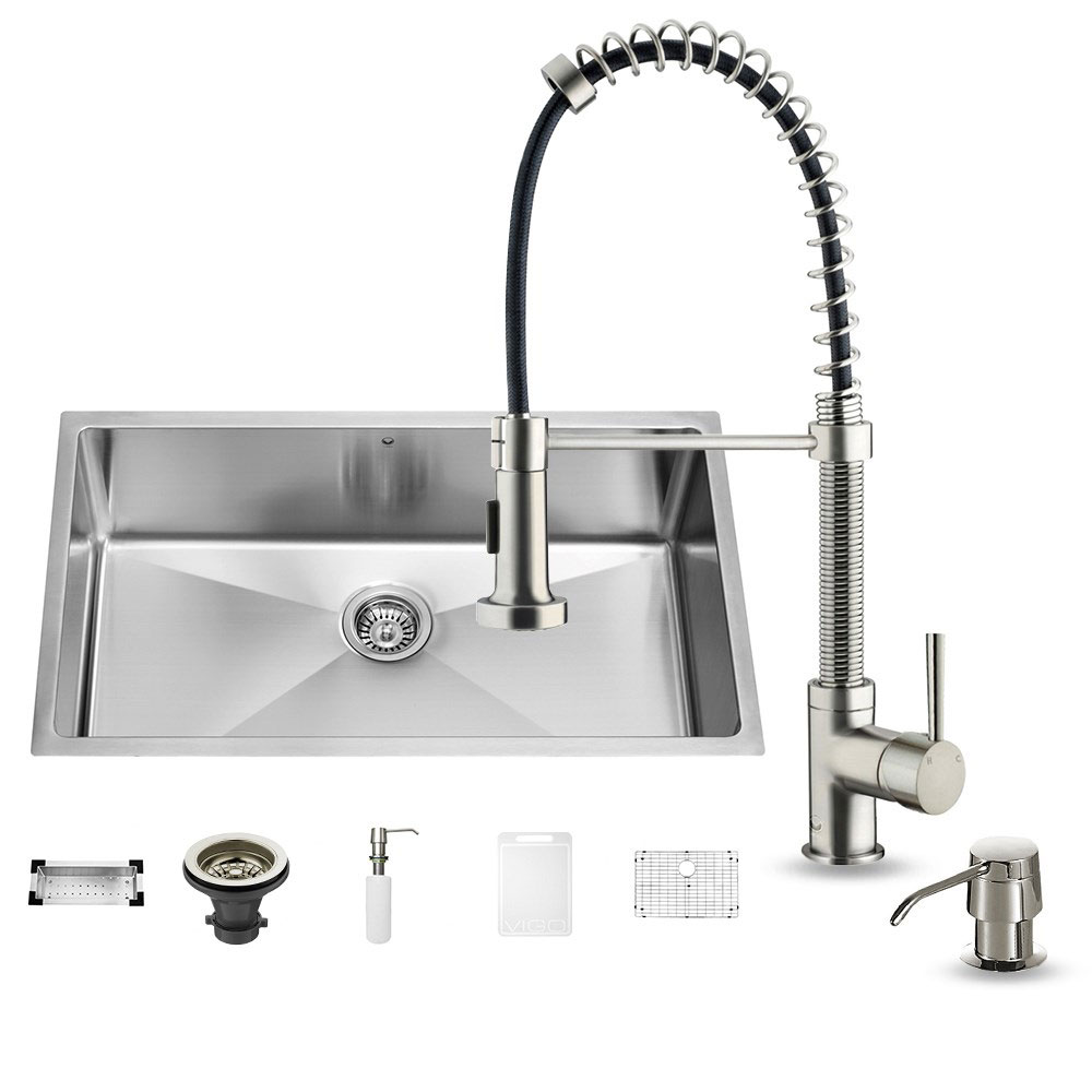 The 10 Best Kitchen Faucets Reviews Comprehensive Guide 2018 Faucet Parts Diagram Additionally Moen Replacement Vigo Top Picks Shopping Help