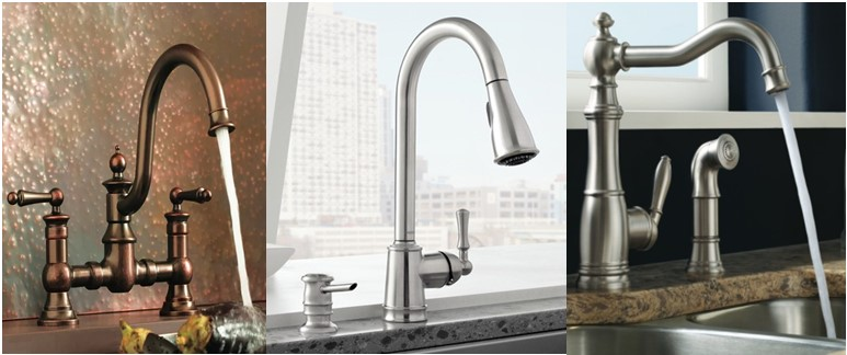the faucets high moen stainless spray spot with kitchen side from collection dp caldwell faucet arc