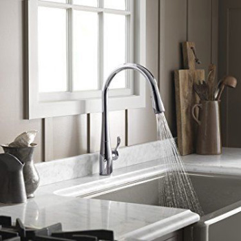 KOHLER K-596-VS Simplice Kitchen Faucet Review
