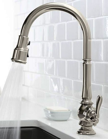 Kohler K-99259-VS Artifacts Kitchen Sink Faucet Review