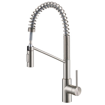 Kraus Oletto Commercial Style Pull Down Kitchen Faucet