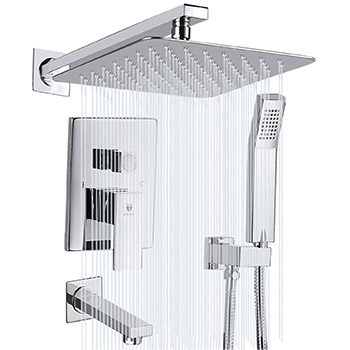 HIMK Shower System Shower Faucet Set